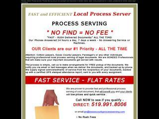 Essex County Process Serving