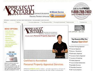 Personal Property Appraiser: Appraisal Ontario